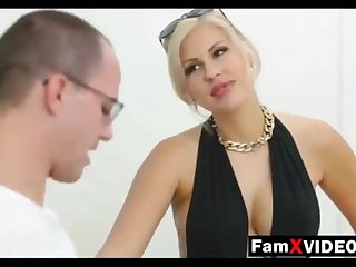 Steamy mommy pummels son-in-law with an increment of trains daughter-in-law - Total Free Mother Hump Telly convenient FamXvideos.com