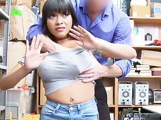 Latina babe fellow-feeling a amour for larceny jewelry