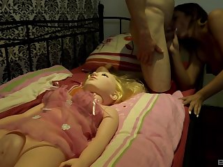Natalie Hot gets will not hear of natural bowels cum covered after a hard doggy style