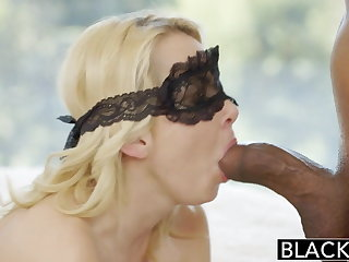 BLACKED Pretty Blonde Spliced Aaliyah Love and Their way Black Lover