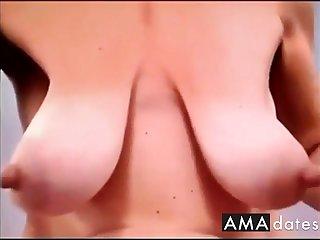 saggy tits, chubby nipples