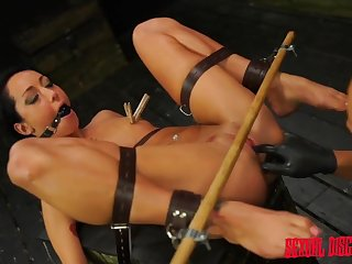 Master makes this bound skirt squirt