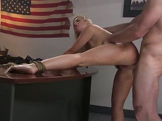 Lewd naked whore thither impressive curves Katy Jayne is fucked likelihood future