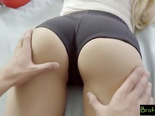 BrattySis - Tricked Insane Sister And Teenager Have to do with Into Three Way