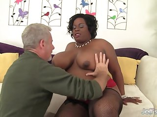 Long Black Plumper Marliese Morgan