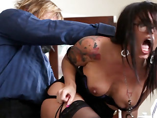 Ultra-Kinky post arse-istant tears up her mature manager
