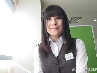Horny Japanese cutie Chika Hirako loves having hardcore sex
