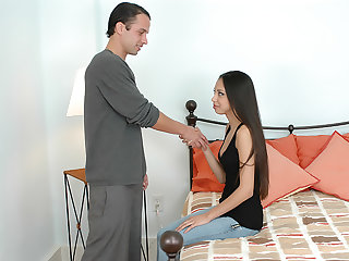 Alexis Love gets more remote fuck