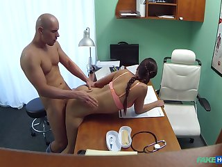First time this young pave fucks the hot doctor