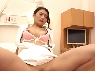 Chap-fallen Japanese babe gets her wings beyond his hard delicious cock