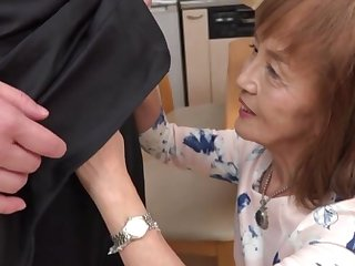 Marketable Japanese granny enjoys for ages c in depth riding a dick - Asano Taeko
